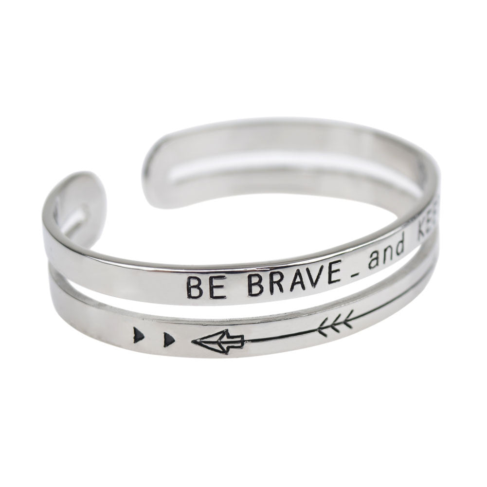 'Be Brave and Keep Going' Band