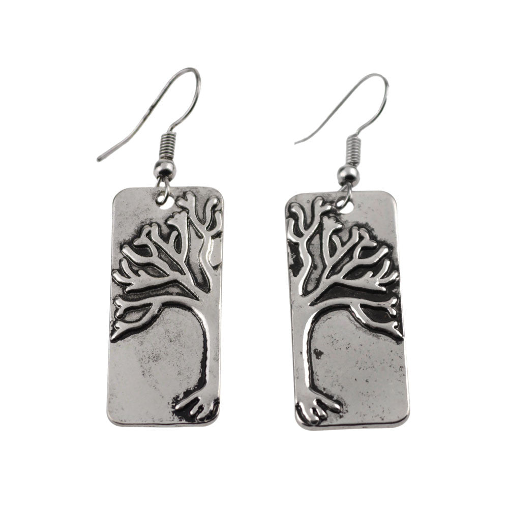 Tree of Life Vintage Earrings, Earring, Modestly