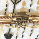 Dream, Believe, Love, Infinity