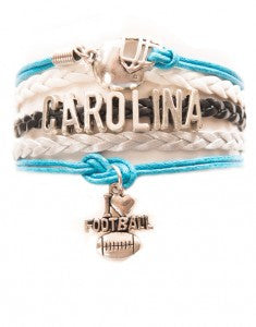 Carolina Football, Bracelet, Modestly