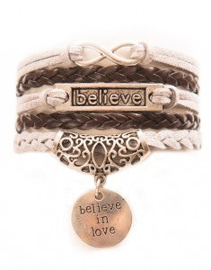 Infinity, Believe, Believe in Love, Bracelet, Modestly