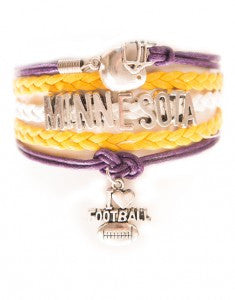 Minnesota Football, Bracelet, Modestly