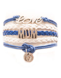 Love, Mom, Feet, Bracelet, Modestly