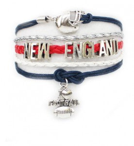 New England Football, Bracelet, Modestly