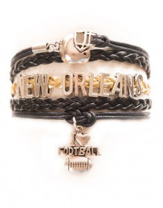 New Orleans Football, Bracelet, Modestly