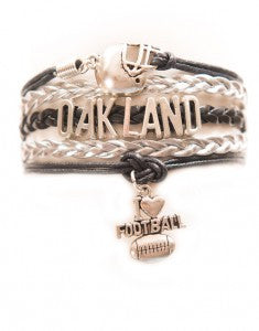 Oakland Football, Bracelet, Modestly