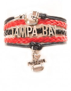 Tampa Bay Football, Bracelet, Modestly
