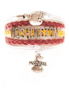 Washington Football, Bracelet, Modestly