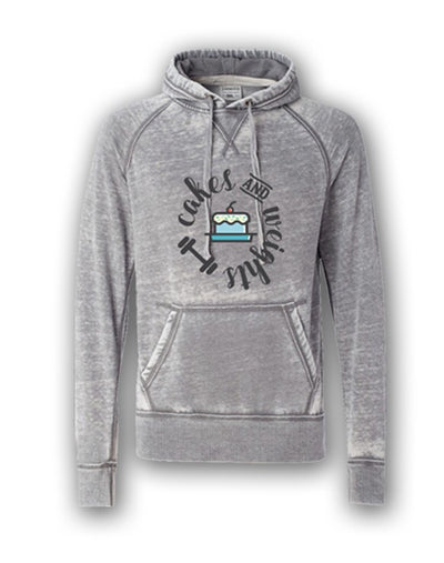 Cakes & Weights Unisex Hoody