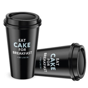 Eat Cake Coffee Cups (Set of 5)