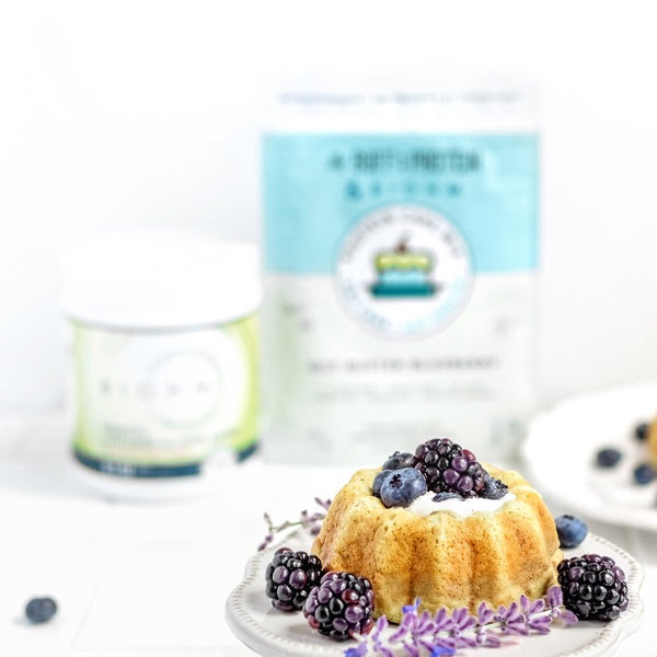 Gut-Buster Blueberry BIOHM Cakes
