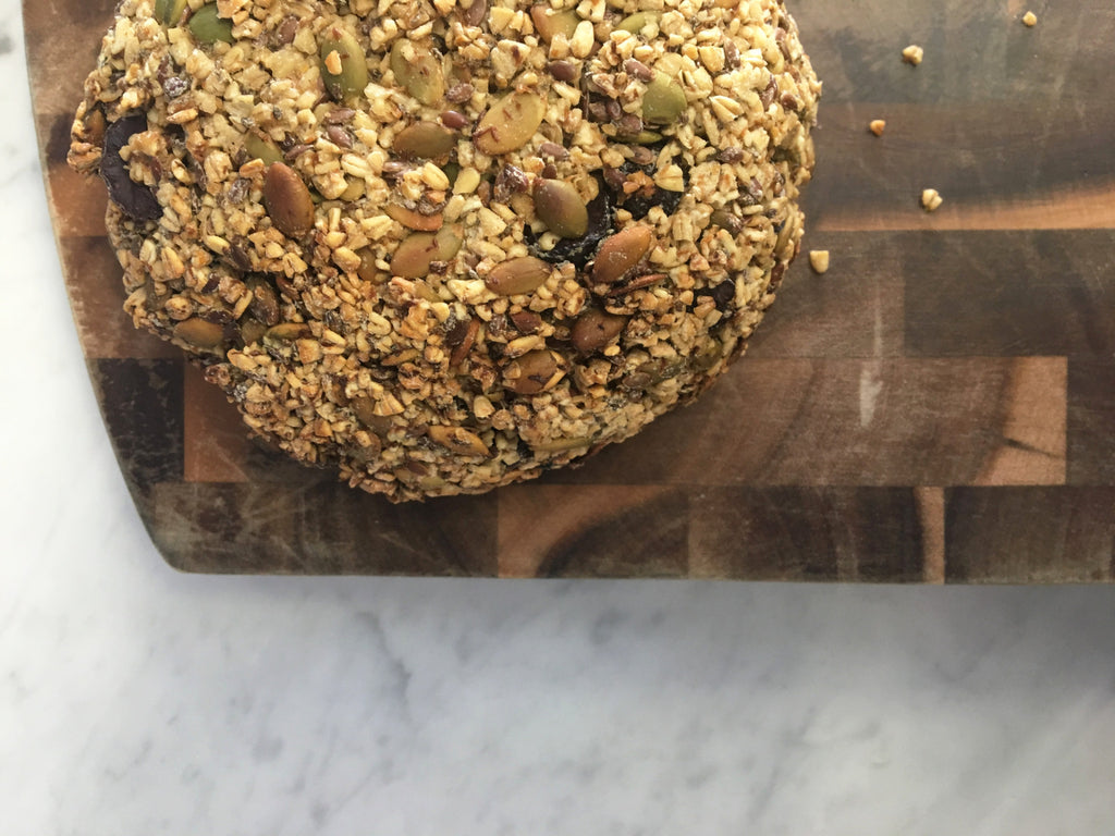 Rosemary & Thyme Sprouted Oat & Seed Bread