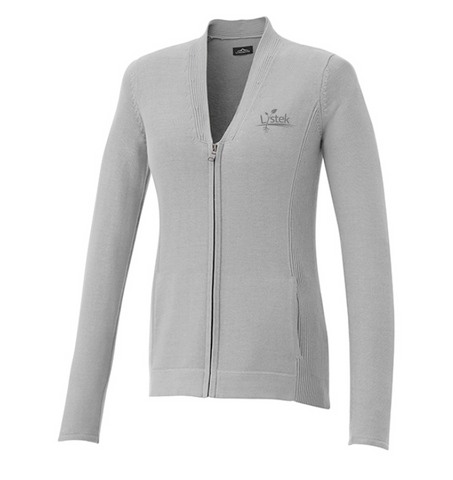 Ladies Full Zip Sweater