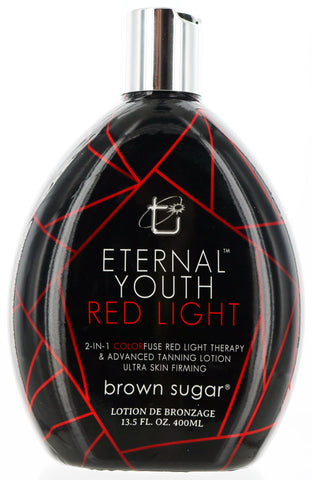 Eternal Youth Red Light 2 in 1 Lotion. Tanning and Skin Firming by Tan Inc