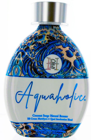 Aquaholic Tanning Lotion with Streak Free Bronzer by Ed Hardy