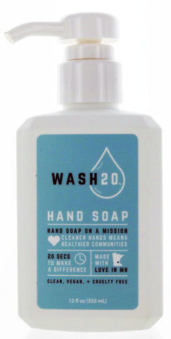 Wash20 Vegan Hand Soap 12 fl oz