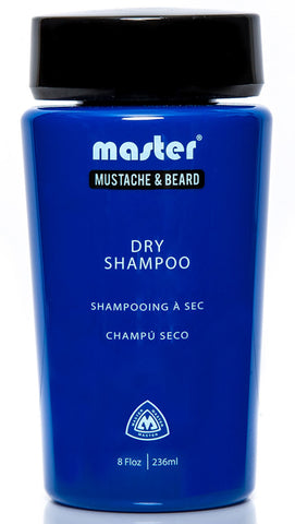 Master Mustache and Beard Dry Shampoo 8 fl oz