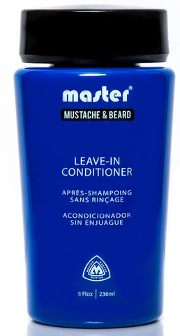 Master Mustache and Beard Leave-In Conditioner 8 fl oz