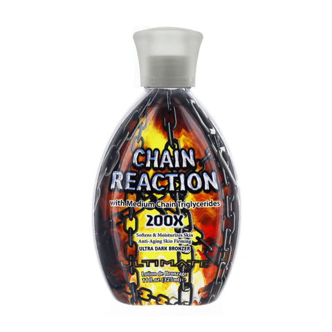 Ultimate Chain Reaction Bronzer Tanning Lotion 11oz