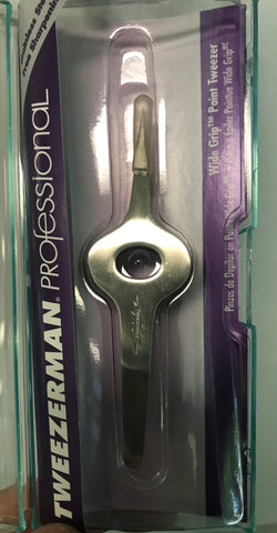 Tweezerman Wide Grip Point Tweezer 1218-P