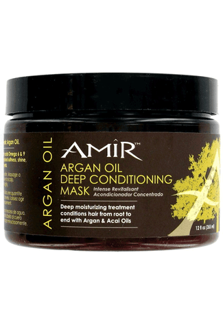 Amir Argan Oil Deep Moisture Mask 12oz - Moisturizers And More