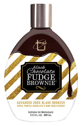 Tan Inc Black Chocolate Fudge Brownie 200x Bronzer 13.5oz