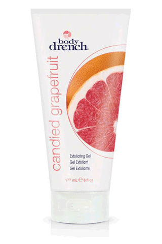 Body Drench Candied Grapefruit Exfoliating Gel 8oz