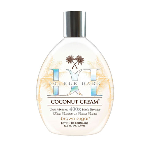 Brown Sugar Double Dark Coconut Cream 400x Bronzer 13.5oz