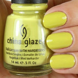 China Glaze Electric Pineapple Nail Polish #80706