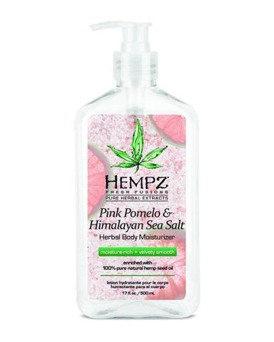 Hempz Moisturizer Pink Pomelo & Himalayan Sea Salt Herbal Body Lotion 17oz