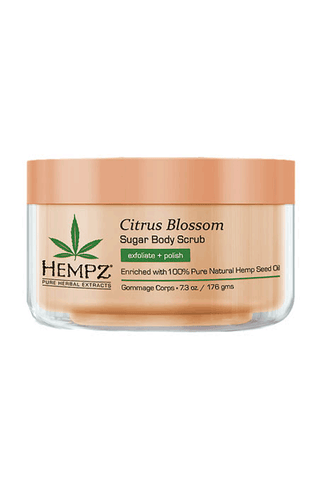 Hempz Sugar Body Scrub Citrus Blossom 5oz