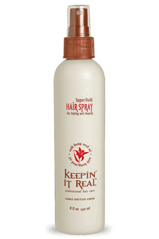 Keepin' It Real Super Hold Hair Spray 8oz