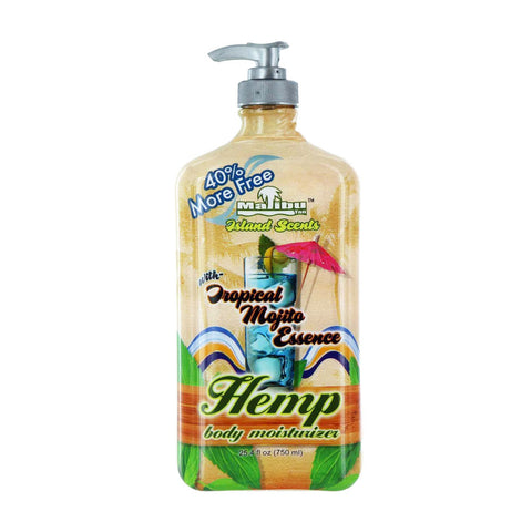 Malibu Hemp Tropical Mojito Essence Body Moisturizer 25.4oz