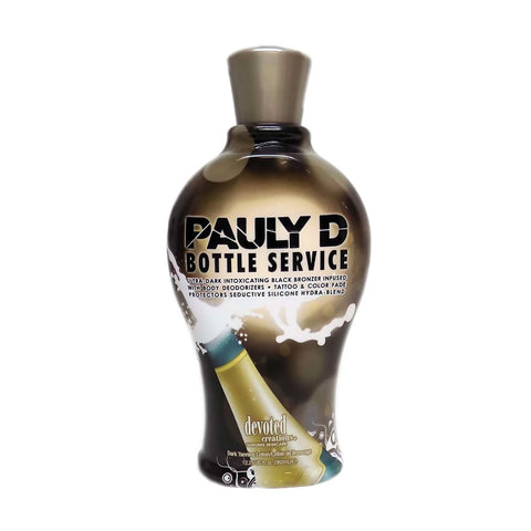 Pauly D's Bottle Service Tanning Lotion Bronzer 12.25oz