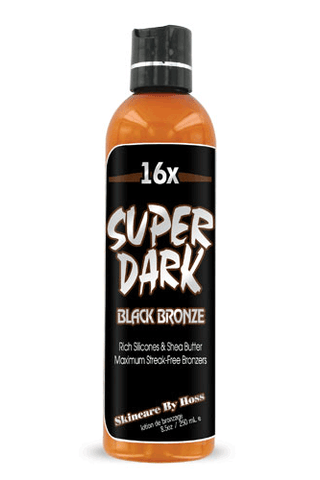 Super Dark Black 16x Black Bronzer 8oz
