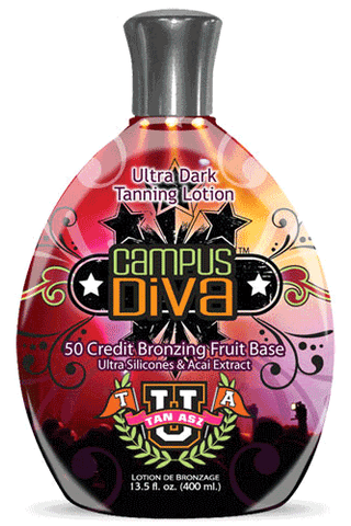 Tan Asz U Campus Diva 50x Fruit Bronzer 13.5oz