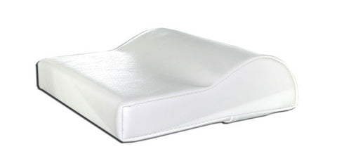 Tanning Bed Pillow Contour White