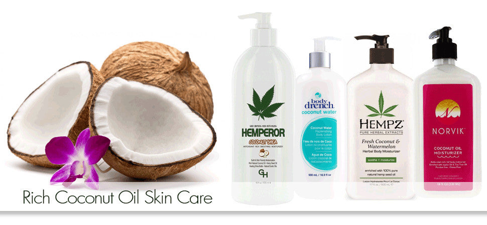 Coconut Oil Moisturizers, Lotions & Tanning Lotions