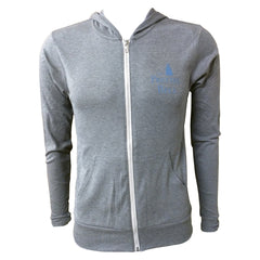 The Pretzel Bell Lightweight Hoodie - Grey triblend
