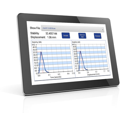 Smart-TSR Tablet Report