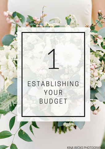 Establishing Your Wedding Budget - Individual Lesson