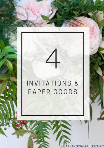 Invitations and Paper Goods - Individual Lesson