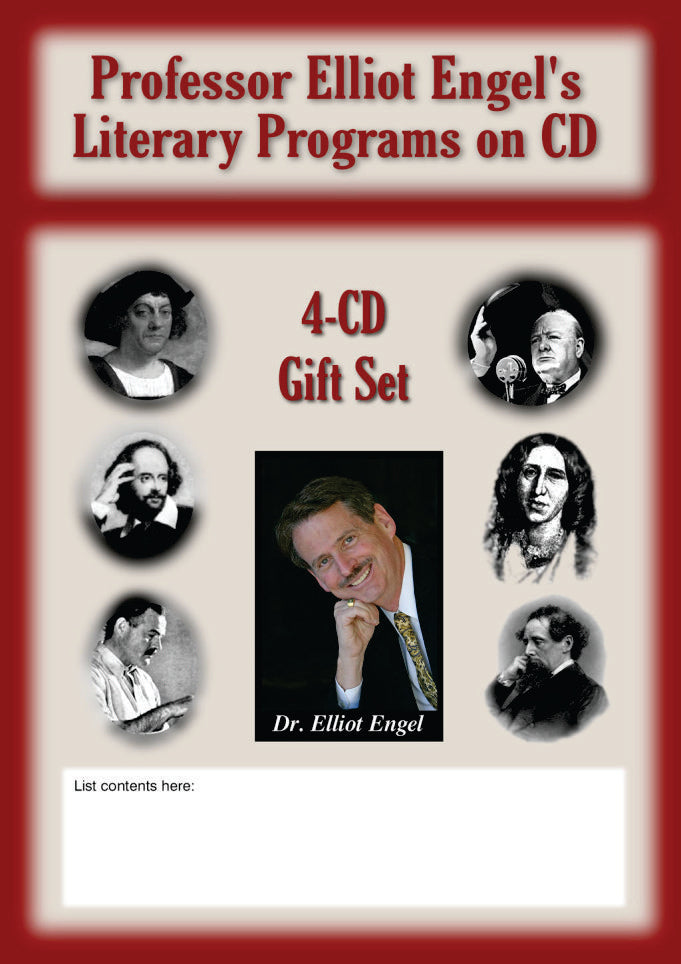 MY04 - Design Your Own 4-CD Gift Set