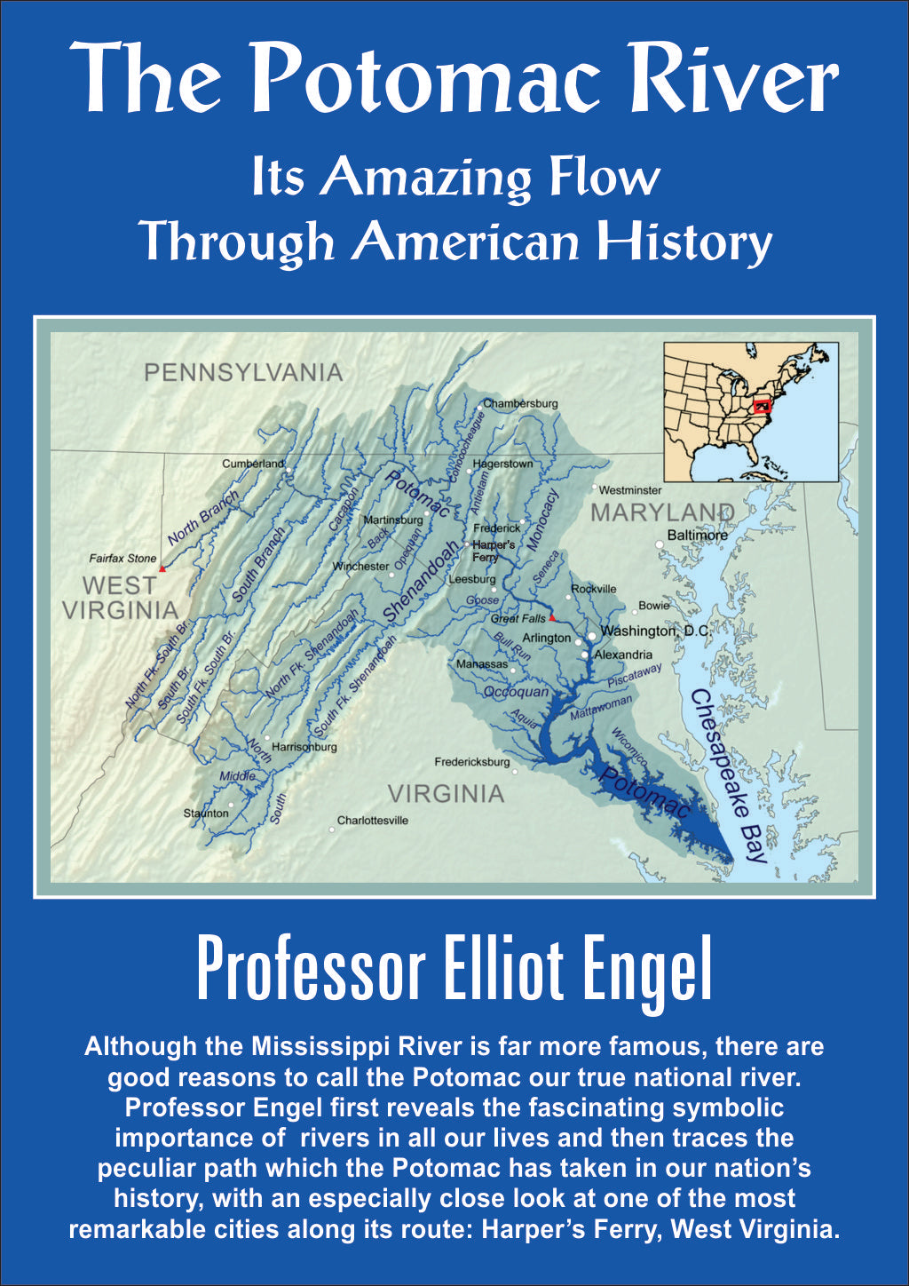 DL103 The Potomac River: Its Amazing Flow Through American History - AUDIO DOWNLOAD