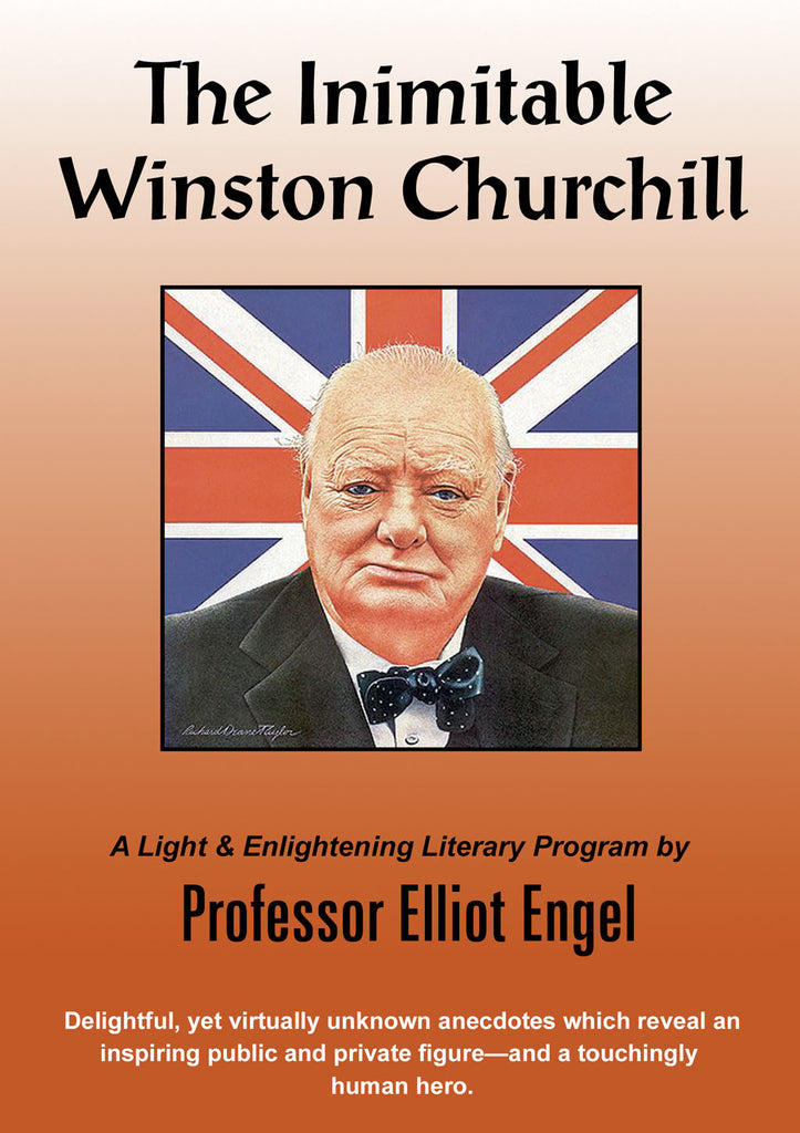 The Inimitable Winston Churchill