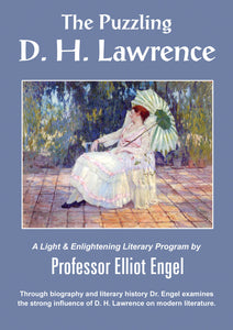 DL53 The Puzzling D. H. Lawrence - AUDIO DOWNLOAD
