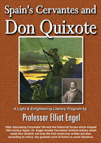 Spain's Cervantes & Don Quixote