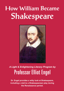 DL08 How William Became Shakespeare - AUDIO DOWNLOAD