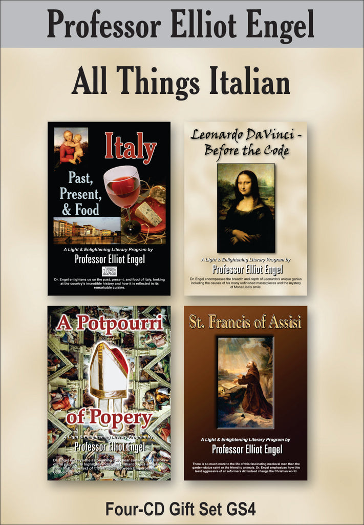 All Things Italian (4 CD Gift Set)