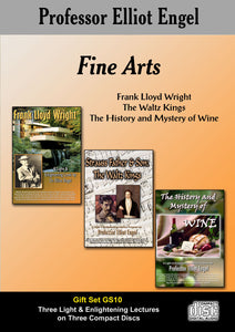 GS10 - Fine Arts (3 CD Gift Set)